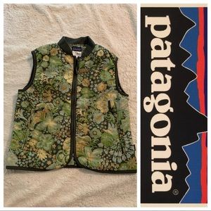 Patagonia Women's Floral Vest Small